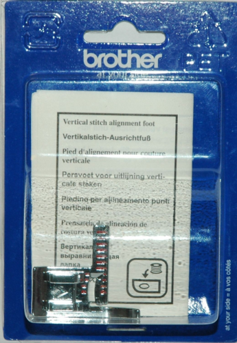 Brother Sewing Machine Vertical Stitching Alignment Foot - F063 XE5224001